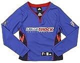 Detroit Shock WNBA Big Girls Long Sleeve Shooting Shirt - Blue (X-Large (16))