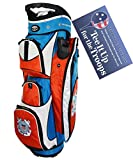 Hot-Z Golf US Military Coast Guard Cart Bag Review