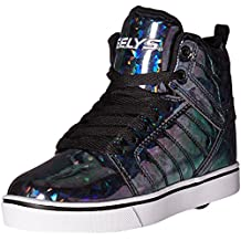 Heelys Uptown - Black/Hologram - Ships from Canada