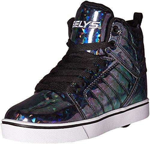 Heelys Kids' Uptown Sneaker - Black/Hologram - 13 M US Li...