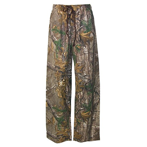 Camouflage Flannel (Boxercraft Men's Camouflage Print Flannel Pajama Pants, XL, Tan)