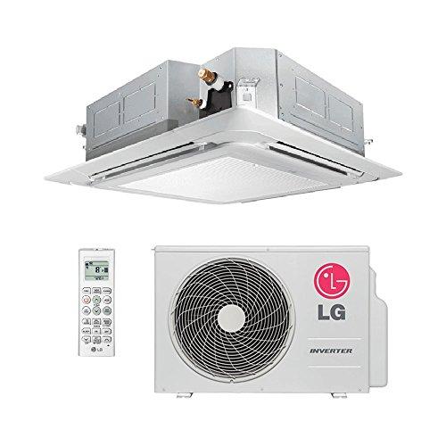 Ar Condicionado Split Cassete Inverter Lg 18000 Btus Quente/Frio 220V Monofásico ATNW18GPLP0