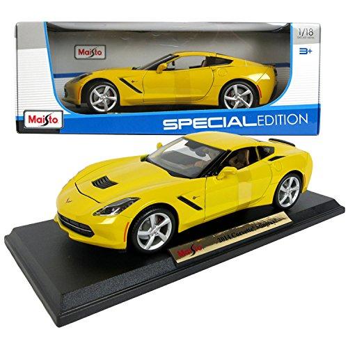 Yellow Sports Car - 8