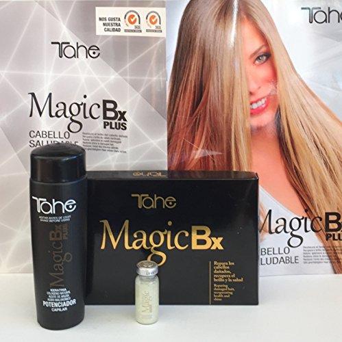 Tahe Magic Bx 6x10 ML Plus Potenciador Capilar 250 ML by Tahe
