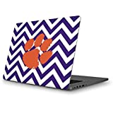 Skinit Clemson University MacBook Pro 13 (2013-15 Retina Display) Skin - Clemson Chevron Print Design - Ultra Thin, Lightweight Vinyl Decal Protection