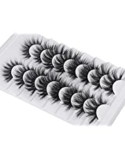 8 Pairs False Eyelashes Pack