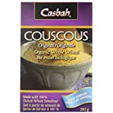 Casbah Organic Whole Wheat CousCous, 10 Ounce Boxes (Pack of 12)