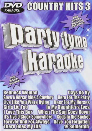 Party Tyme Karaoke: Country Hits, Vol. (Vol 3 Karaoke Dvd)