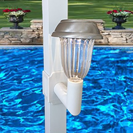 Solar Lanai Lights 1 Light Brightness 5 LUMEN, for Patio's, Screen Enclosures and Pool Cage Lighting by Solar Lanai Lights (Image #3)