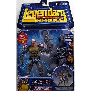 Amazon.com: Legendary Heroes: Savage Dragon Figure II ...
