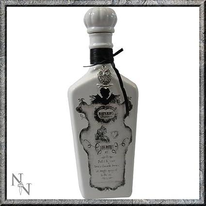 Diseño gótico/Alquimista~poción de amor No. 9~decorativo botella