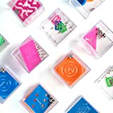 "1 Dozen Assorted 1.5"" Mind Teaser Puzzle Cubes - Office Toy Cubes - Party Favors - Goody Bags - Carnival Prizes - Easter Games and Egg Stuffers - Stress Relief Toys - Educational Toys"
