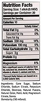 SOS Hydration Doctor Formulated Hydration Drink Mix, Electrolyte Powder Supplement Tub – Citrus Flavor 250g, 50 Servings