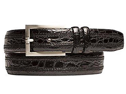 Mezlan Men's Black Belt AO9655 (US Men's 38, Black) (Mezlan Black Belt)