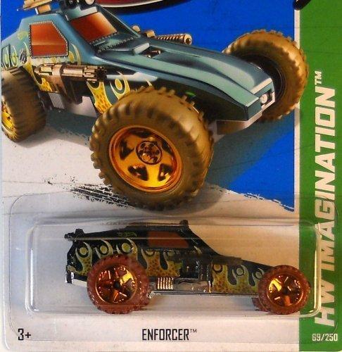 2013 Hot Wheels Hw Imagination Enforcer 69/250