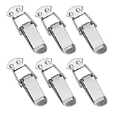 Creatyi 6 PCS 3.54'' Length Stainless Steel Spring Loaded Toggle Latch Clamp Clip for Box,Case