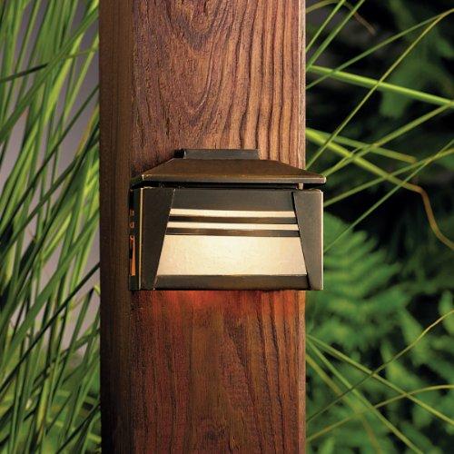 One Light Olde Bronze Deck Light Olde Bronze Deck Light