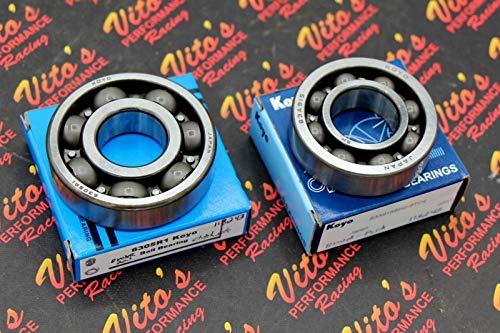 (2 x VITO'S Yamaha Blaster 200 Bearings KOYO flywheel & Clutch Side crankshaft)
