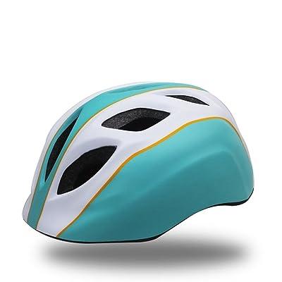 Enfants Cyclisme Patinage Sports de Plein Air Casque Ultralight Intégralement Moulé Réglable Une Taille 52-57 CM Poids 210g