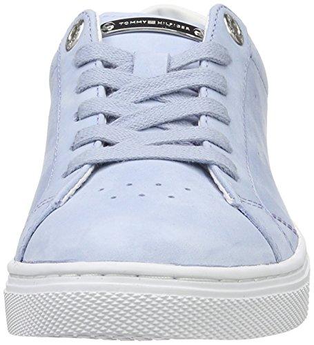 Tommy Chambray 1n1 022 Bleu Basses V1285enus Femme Hilfiger Sneaker ww0xPCrq