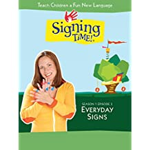 Signing Time Season 1 Episode 3: Everyday Signs