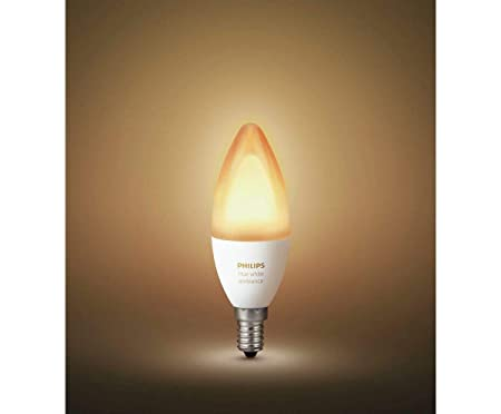 Hue Lampen E14 : Brand philips hue white ambience e candle lamp amazon