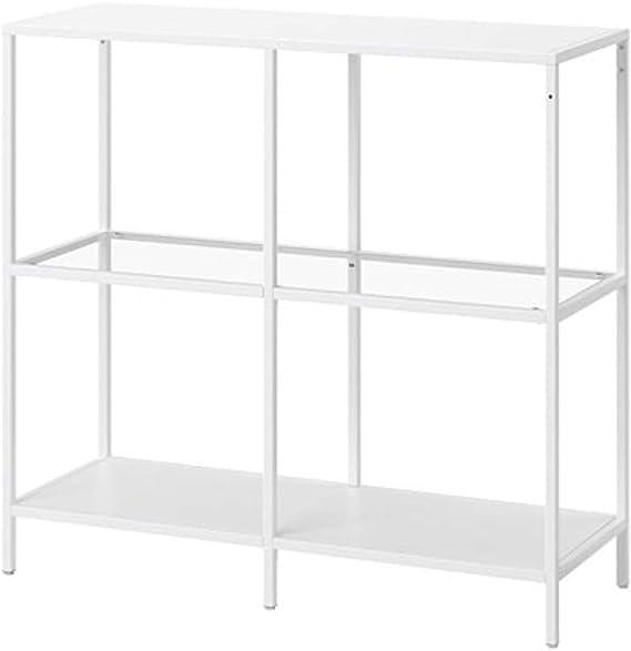IKEA Vittsjo 103.058.02 - Estantería (cristal, tamaño 39, 3/8 x ...