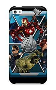 Iphone High Quality Tpu Case/ The Avengers 95 NefurLz9372eaUYZ Case Cover For Iphone 5c