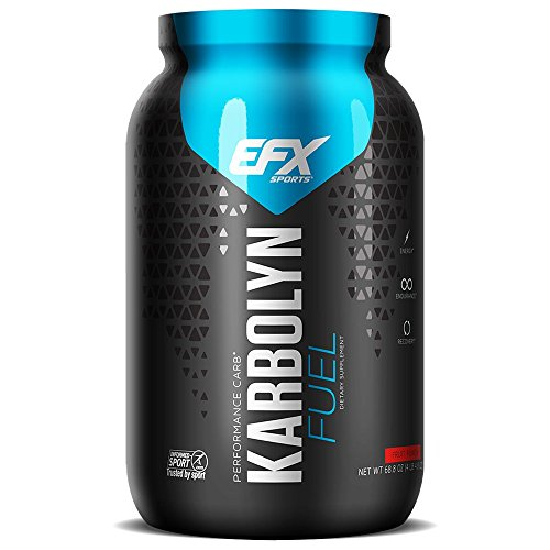 EFX Sports Karbolyn Nutritional Shake, Fruit Punch Frenzy, 4.4 Pound