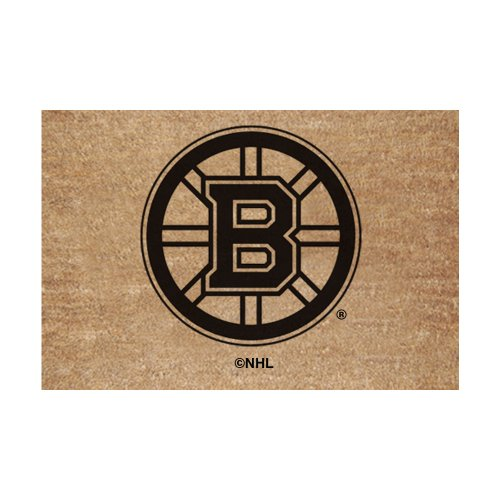 Coir Nhl Door Mat - The Memory Company NHL Boston Bruins Flocked Door Mat