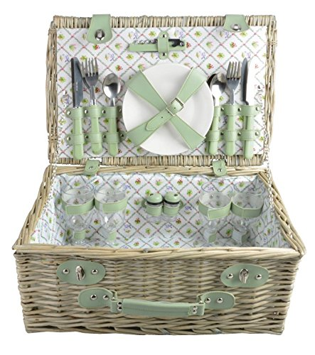 Esschert Design BT051 Botanicae Picnic Basket, Large by Esschert Design