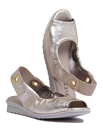 Leather ASM Gold Fant Matt Gold The Sandal Flexx Womens nq7pAgR