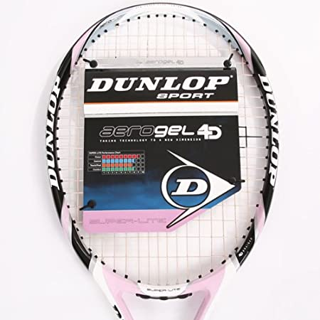 Dunlop Aerogel 4d super-lite Raqueta de tenis (Grip - UK 4 US 4 1/2) de £150: Amazon.es: Deportes y aire libre