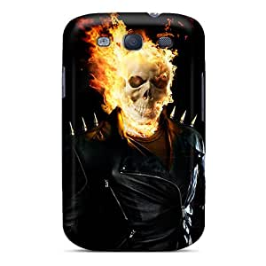 ErleneRobinson Samsung Galaxy S3 Protective Hard Phone Case Support Personal Customs Colorful Ghost Rider Skin [RrT202ZIlB]