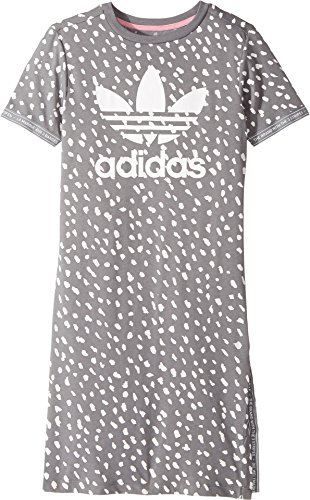 Price comparison product image adidas Originals Big Girls' Originals Kids Nmd Tee Dress, Grey Three/White, XS