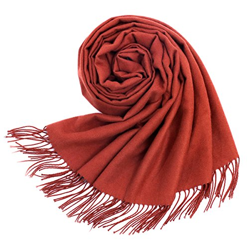 Women Soft Pashmina Scarf Stylish Warm Blanket Scarves Solid Winter Shawl by Arctic Penguin (Image #8)