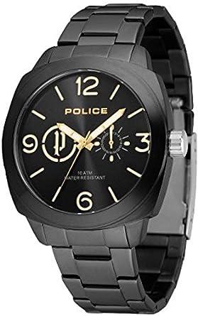 Police Analog Black Dial Men's Watch-PL14717JSB02MAJ Men at amazon