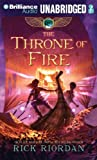 download ebook by riordan, rick the throne of fire (the kane chronicles, book 2) unabridged edition audio cd pdf epub
