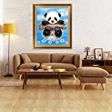 Bangle009 Chinese Panda 5D Diamond Painting Crystals Embroidery DIY Paint-By-Diamond Kit