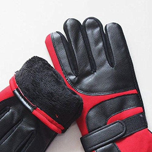 YideaHome 手袋 メンズ手袋 レディース手袋 防寒手袋 ふわふわ 厚手 可愛い 冬小物 運転運動にも 秋冬用