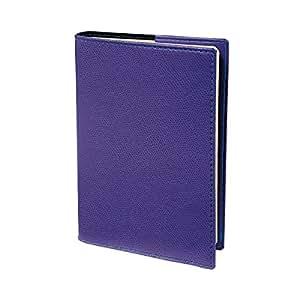 Quo Vadis Minister Club Diary Weekly Calendar Year 2018Prestige 16x 24cm purple