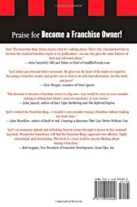 Become a Franchise Owner!: The Start-Up Guide to Lowering Risk, Making Money, and Owning What you Do from Wiley