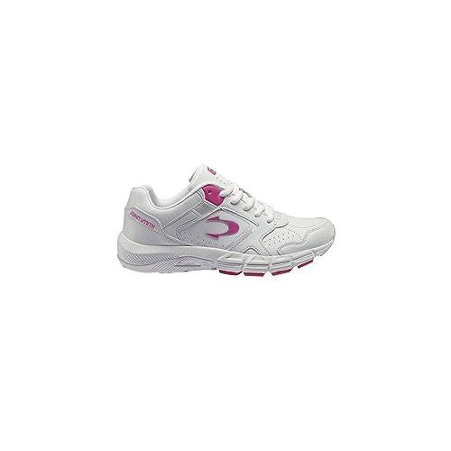 Zapatillas John Smith Reder Blanco-Rosa - Color - Blanco, Talla - 36: Amazon.es: Zapatos y complementos