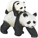 Papo - 50071 - Figurine - Animaux - Panda et son Bébé