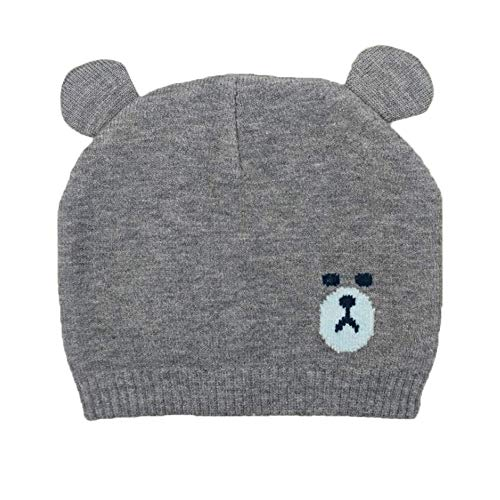 10b3cc7ce3a XKT Baby Boys Girls Winter Knitted Hat Cute Bear Beanie Skull Cap ...