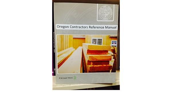 amazon com oregon contractors reference manual health personal care rh amazon com oregon contractor's reference manual pdf