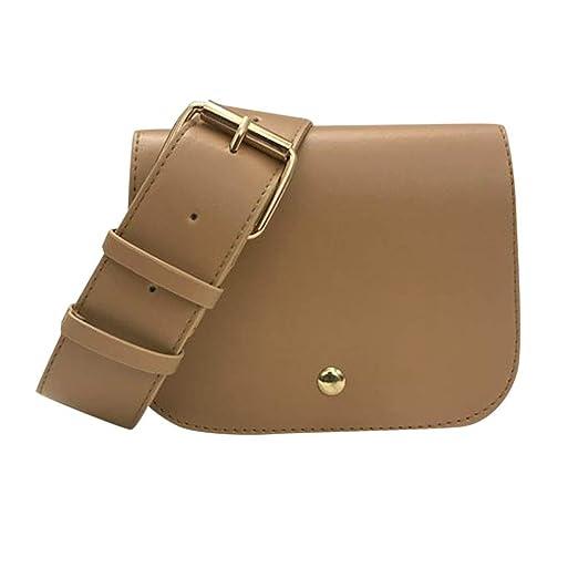 ad2f3604fb7a Amazon.com: HYSGM Women Fashion Waist Bag Adjustable Belt bags Coin ...