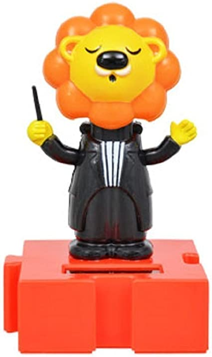 New Solar Powered Dancing Orchestra Music ~ Set of 3 Mouse Lion  FREE SHIPPING