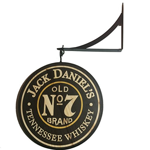 "Classic signs Jack Daniels 12"" Double Sided Pub Sign"
