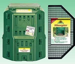 Neudorff Handy - Compostador térmico (470 L, con rejilla para ratones)